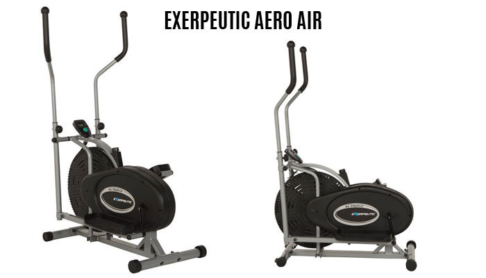 exerpeutic-aero-air elliptical trainer