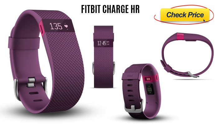 Fitbit ChargeHR compare fitness trackers