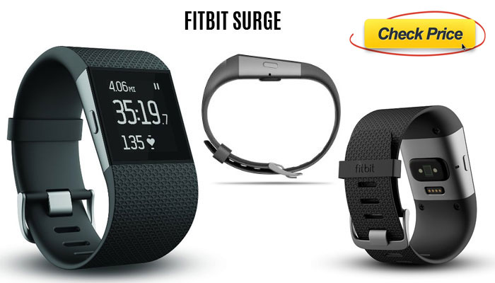 Fitbit surge large wearable fitness tracker