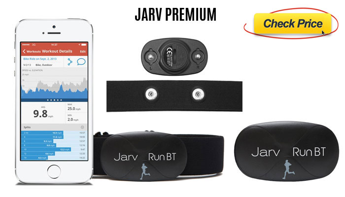 Jarv-Premium-large-wearable heart rate monitor strap