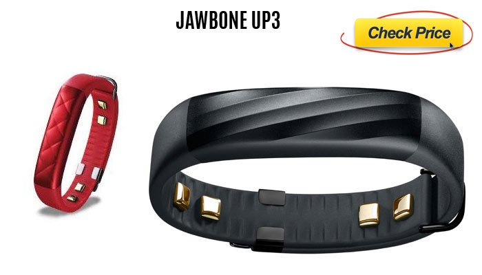 Jawbone UP3 -activity tracker