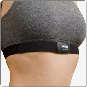 chest strap heart rate sensor