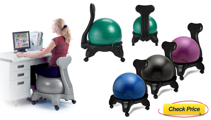 100 [ Exercise Ball Chair With Arms ]