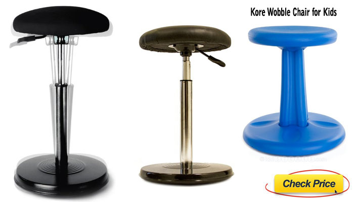 Kore wobble stool for reducing back problems