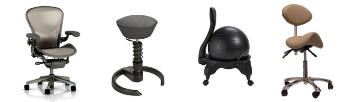 active chairs to prevent back ache
