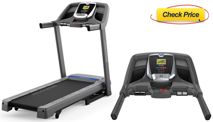 Horizon Fitness T101 04 Treadmill