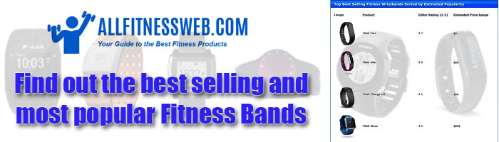 Compare Wearable activity monitoring bands