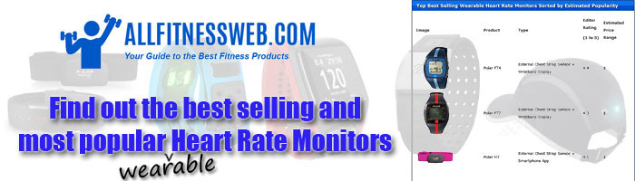 Popular Wearable heart rate devices