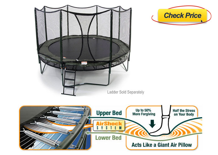 AlleyOOP trampoline reviewed