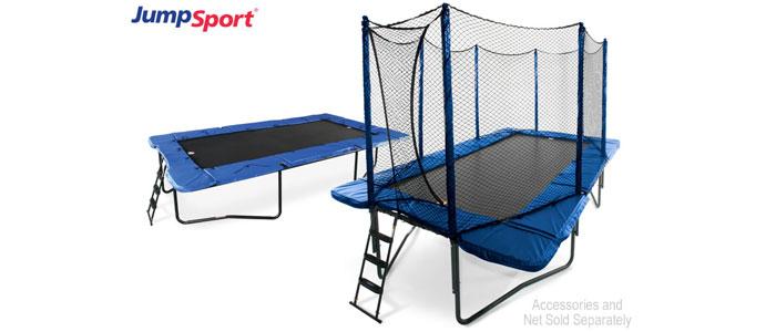JumpSport-17-feet StagedBounce Rectangular Trampoline