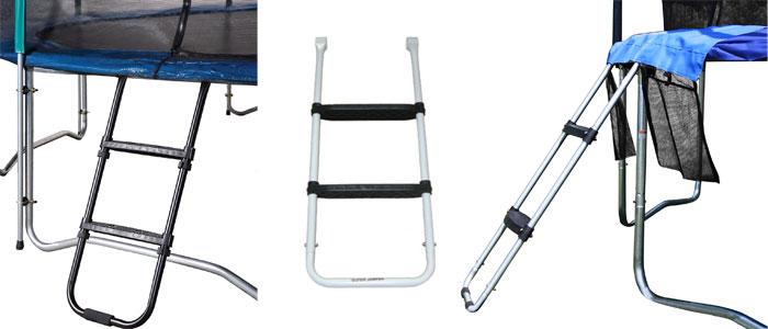 Trampoline-ladders