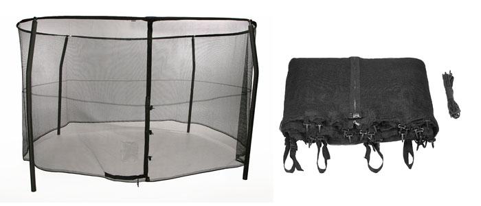 Trampoline-safety-enclosure