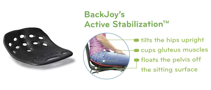 BackJoy-SitSmart-chair-back-support