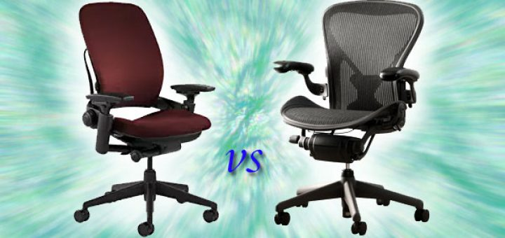 steelcase leap vs aeron what s the difference